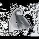 Seseragi gradationストール/ブラック