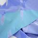 Sagi cut jacquardストール/ブルー