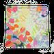 window flower ハンカチ/レッド