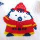 神戸市消防局コラボタオルハンカチ(今治産)