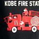 神戸市消防局コラボパーカ ネイビー (消防車)