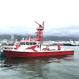 神戸市消防局コラボトートバッグ ナチュラル(消防艇たかとり)