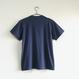 おとなTシャツ ブルー(クレーン)