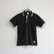 おとなラインポロシャツ ブラック(ポートタワー)