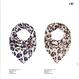 〝LEO  〟レオパード柄 シルクスカーフ  北欧  デンマーク