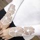 フラワー刺繍ニットカットソー