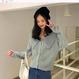 【2色】ニットカーディガンセーター