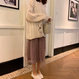 【2色】ドット柄チュールスカート