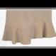 マーメイドライク膝丈スカート