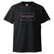 "MONARK ""Simple Box Logo"" tee (Black/pink)"