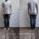 もの凄い鯖のTシャツ ORGANIC COTTON(ホワイト)