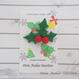 【DenDen】ブローチ◆クリスマスヒイラギ【C05-035】