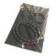 フトアゴ用レザーハーネスセット-ブラック(TYPE-01-BK-SET)