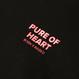 BORN X RAISED - PURE OF HEART HOODY (ブラック)