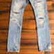 BLUE SAKURA - TCB × BLUE SAKURA Collaboration Jeans