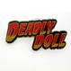 Jesse Jo Stark - Deadly doll pin (ピンバッジ)