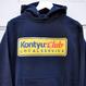 NAOSHIYA CUSTOM FACTORY - KONTYU CLUB パーカー(ネイビー )