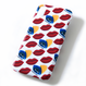 BADACIOUS KISS KISS iPHONE CASE RED (Hard Case)