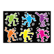 Mudpuppy Keith Haring Glow In The Dark Puzzle