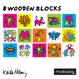 Mudpuppy Keith Haring Wooden Blocks