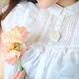 【 Sleeping Beauty - 寄り添う眠り- 帯留ペンダントトップ 】 芍薬の抱擁。柔らく包まれて記憶と夢がとけあう手ざわり。