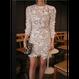 Asymmetry Flower Lace Dress (アシンメトリーヘムライン フラワーレースワンピ)