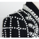 Luxury Verour Couture  SJacket With Pearls (パール付き クチュールベロアジャケット)