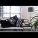 Modern Symmetric Striped Cushion Pillow Case (モダン シンメトリーストライプ)