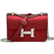 "【7 Colors/2 Sizes!!】 7色2サイズ  20cm Matte Jerry H Mini Bag ""Miss H""/  ショルダーチェーン付き マットジェリーバッグ ""Miss H"""
