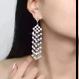 Crystal Chandelier Earrings  (クリスタル シャンデリアピアス)