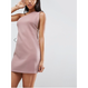 One Shoulder With Zipper Side Dress (サイドジッパーデザイン  ワンショルダーワンピ)