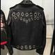 100% Lamskin Eyelet Biker Jacket (はと目加工 ライダースジャケット)
