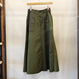 Moname ベイカーロングスカート