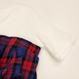 Dignite collier チェックビスチェ付きTシャツ