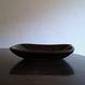 山本勘弥の飴釉角鉢