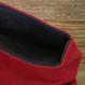 帆布かばん レッド/グレー