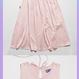 Long Onepiece (Satin Pink)