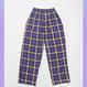 NEONDUST. 18F Check Pants