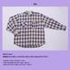 NEONDUST. 18F Check Shirt