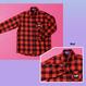 W_Check Shirt