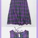 Long Onepiece (Purple Check)