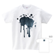 Tシャツ:デニム 血