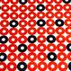 Ring (Red x Navy)     ※15cm x 15cm