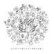 『イヤコラセ東京×にゃんとこコラボ!第36回すみだ錦糸町河内音頭T-shirts』 /BLACK×WHITE