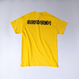 "tr.4 suspension / ""WILLIAM LOGO"" S/S Tee (yellow)"