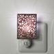 伊勢型紙のナイトランプ【アラベスク】RED【送料無料 税込】