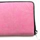 印伝 長財布 ラウンドファスナー【ペイズリー】ピンク革×白漆【送料無料 税込】