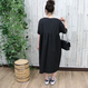 DOLMAN SLEEVE DRESS