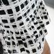 Black Checked Skirt