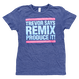 TREVOR HORN REMIX T-SHIRT (NAVY)